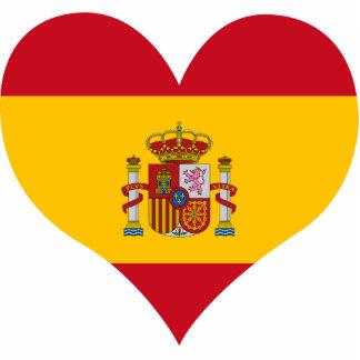 Buy Spain Flag Acrylic Cut Out