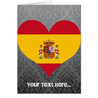 Buy Spain Flag Greeting Card