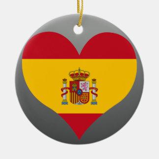 Buy Spain Flag Christmas Tree Ornaments