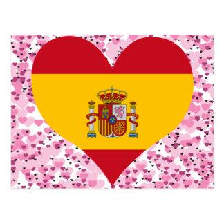 Buy Spain Flag Postcard