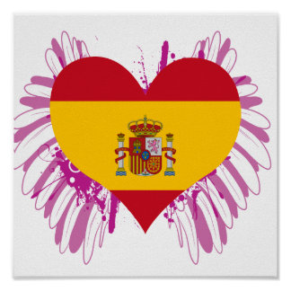 Buy Spain Flag Print