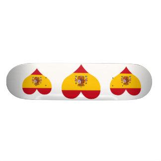 Buy Spain Flag Skateboard