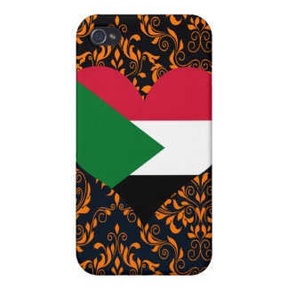 Buy Sudan Flag Case For iPhone 4