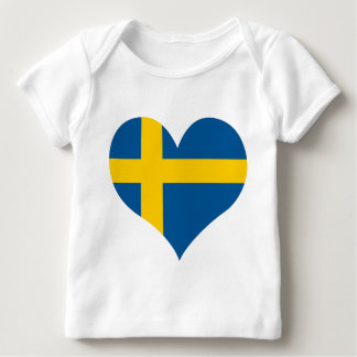 Buy Sweden Flag Baby T-Shirt