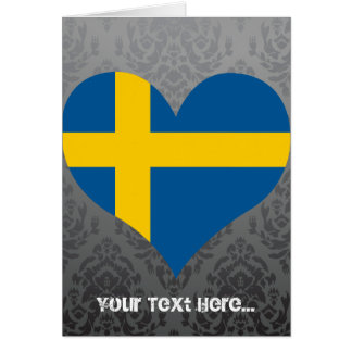 Buy Sweden Flag Card