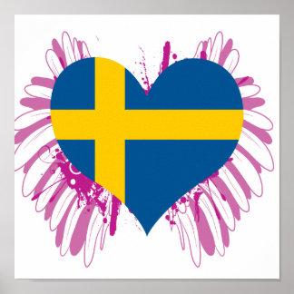 Buy Sweden Flag Poster