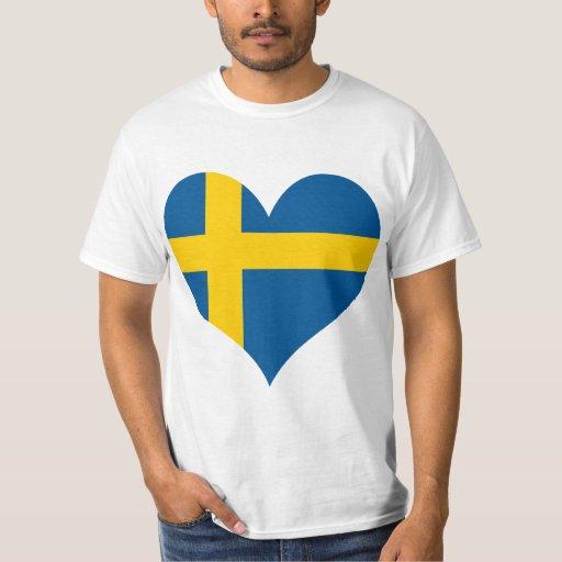 Buy Sweden Flag T Shirt