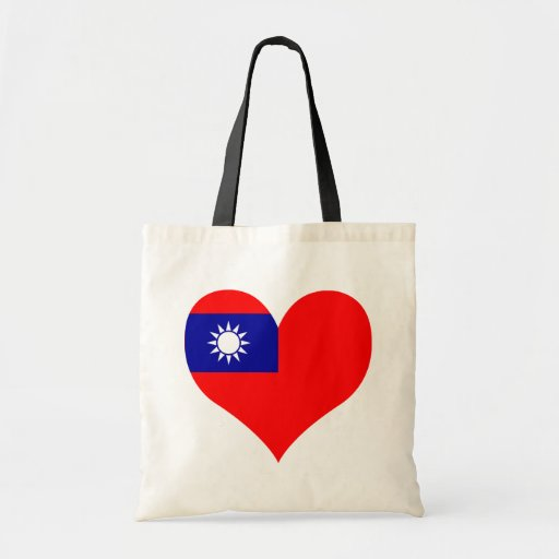 Buy Taiwan Flag Budget Tote Bag