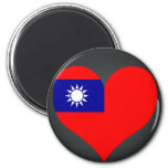 Buy Taiwan Flag Fridge Magnets