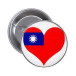 Buy Taiwan Flag Pinback Buttons