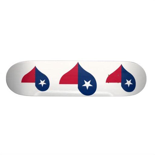 Buy Texas Flag Skateboard Deck