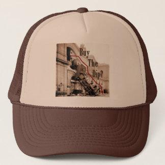 Buy The Dip Stock Market Humor Trucker Hat