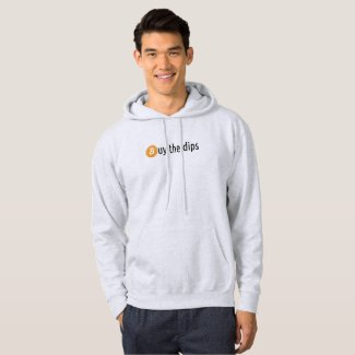 Buy the dips bitcoin hoodie