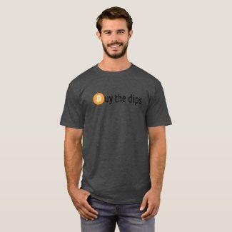 Buy the dips bitcoin shirt