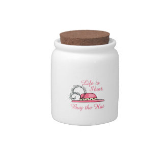 Buy the Hat Candy Jar