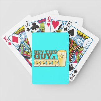 Buy This Guy a Beer!  from The Beer Shop Bicycle Playing Cards