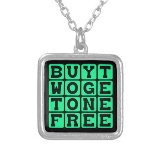 Buy Two Get One Free Pregnant With Triplets Necklace