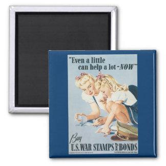 Buy U.S. War Stamps & Bonds Magnet