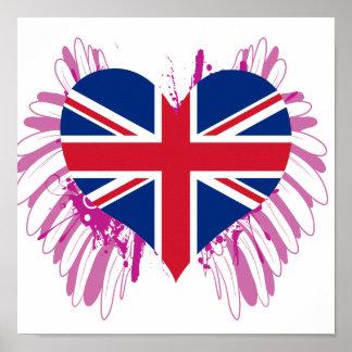 Buy United Kingdom Flag Print