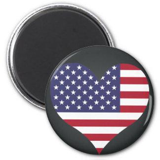 Buy United States Flag 2 Inch Round Magnet