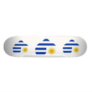 Buy Uruguay Flag Skate Board Deck