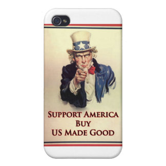 Buy US Goods Uncle Sam Poster iPhone 4 Cases