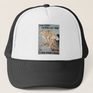 Buy US War Stamps Bonds Trucker Hat