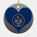 Buy Utah Flag Christmas Ornament