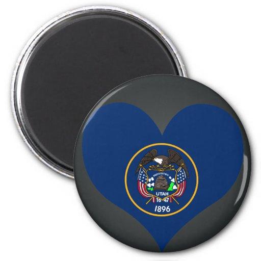 Buy Utah Flag Refrigerator Magnets