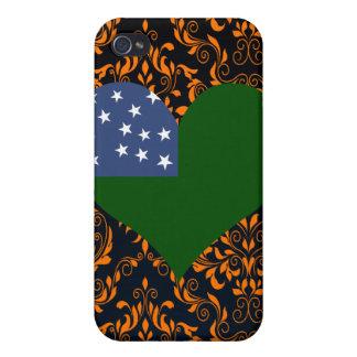 Buy Vermont Republic Flag iPhone 4 Case