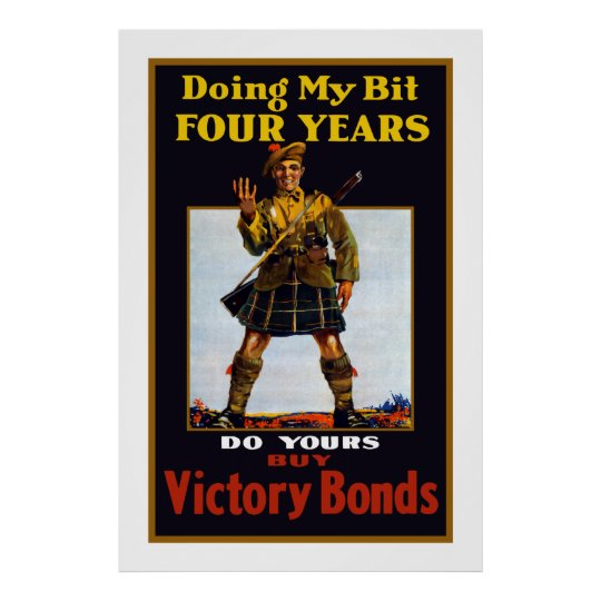 Buy Victory Bonds -- WW1 Poster