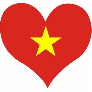 Buy Vietnam Flag Photo Sculptures
