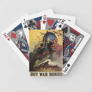 Buy War Bonds Bicycle Playing Cards