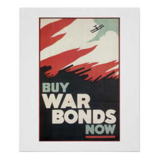 Buy war bonds now (1918)_Propaganda poster