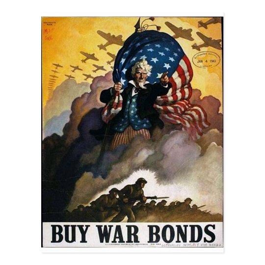 Buy War Bonds! Postcard