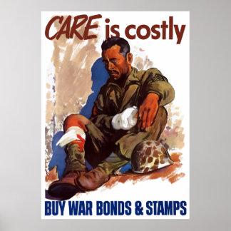Buy War Bonds & Stamps Poster