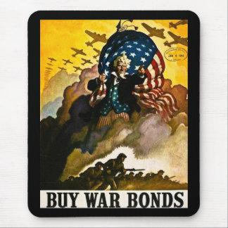 Buy War Bonds Vintage Mouse Pad