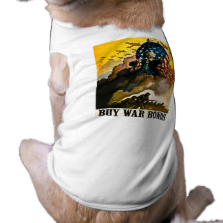 Buy War Bonds - Vintage World War II Dog Clothes