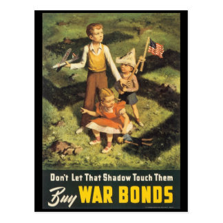 Buy War Bonds World War 2 Postcard