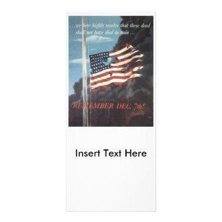 Buy War Bonds World War 2 Custom Rack Cards