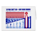 Buy War Bonds WWII 1942 WPA Card