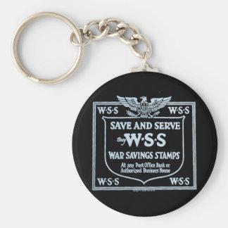 Buy War Savings Stamps Vintage World War I Keychain