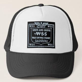 Buy War Savings Stamps Vintage World War I Trucker Hat