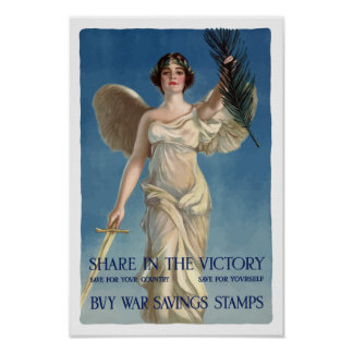 Buy War Savings Stamps -- WWI Posters
