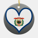 Buy West Virginia Flag Ornaments