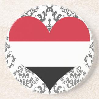 Buy Yemen Flag Sandstone Coaster