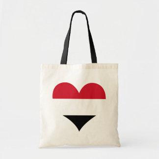 Buy Yemen Flag Tote Bag