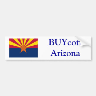BUYcott Arizona Bumper Sticker