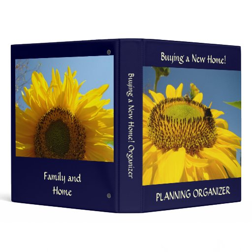 Buying a new home binder planning organizer book zazzle for Home planning binder