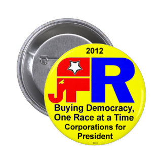 Buying Democracy - Button